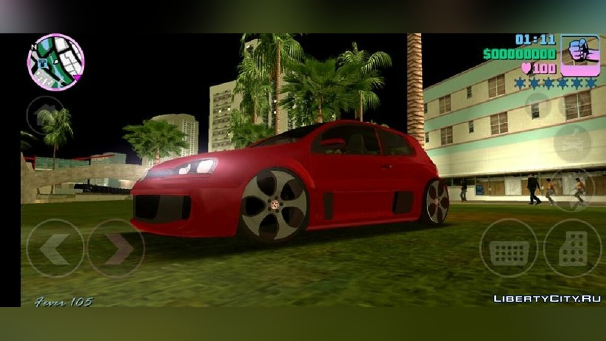 Volkswagen Gofl GTI W12-650 для GTA Vice City (iOS, Android) - Картинка #1
