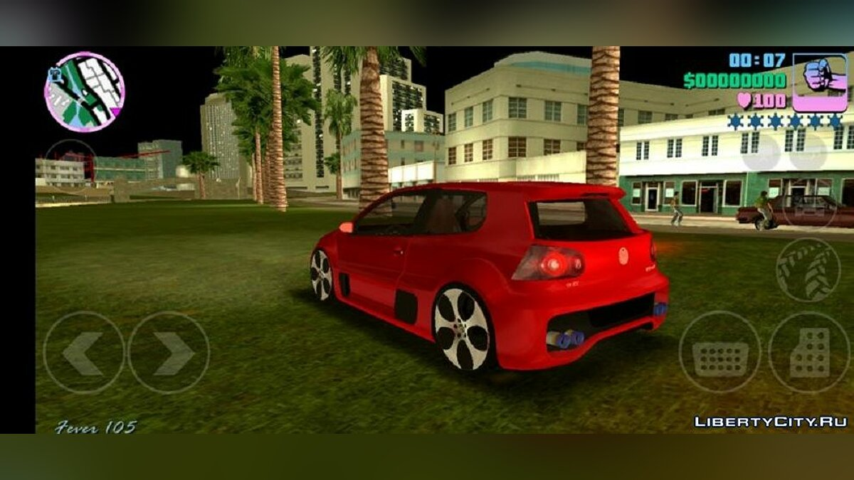 Volkswagen Gofl GTI W12-650 для GTA Vice City (iOS, Android) - Картинка #2