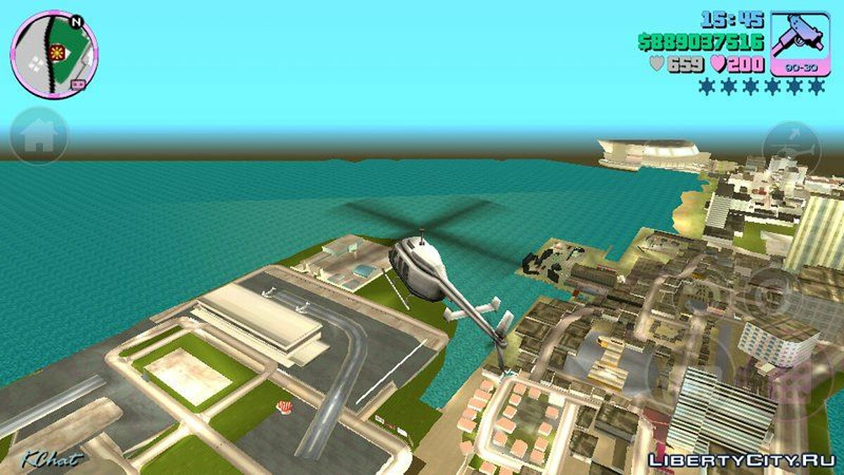 Heli Limit Mod Android для GTA Vice City (iOS, Android)