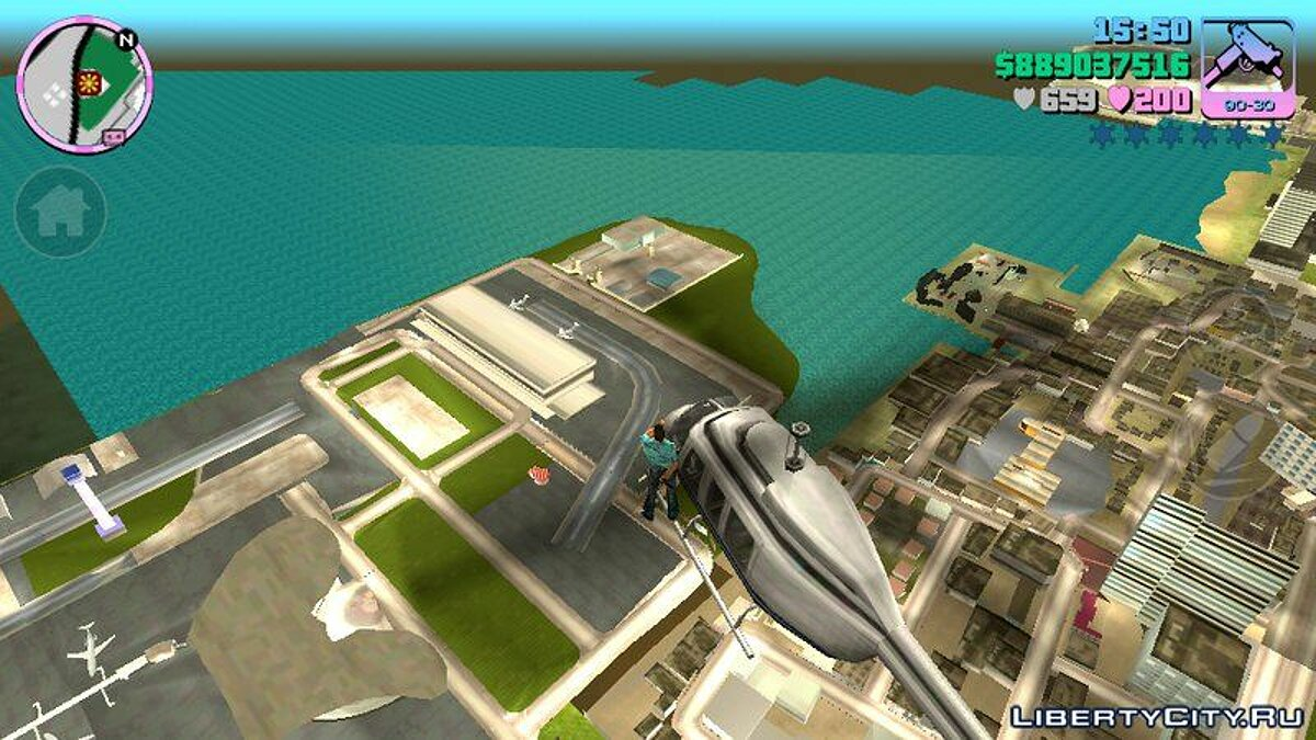 Heli Limit Mod Android для GTA Vice City (iOS, Android) - скриншот #2