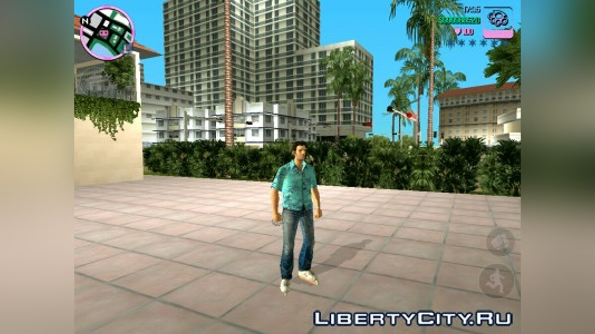 Мод Rollerskater mod для GTA Vice City (iOS, Android)