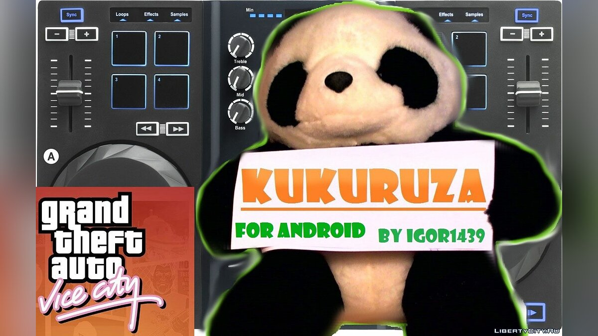 Мод Kukuruza.fm for android для GTA Vice City (iOS, Android)