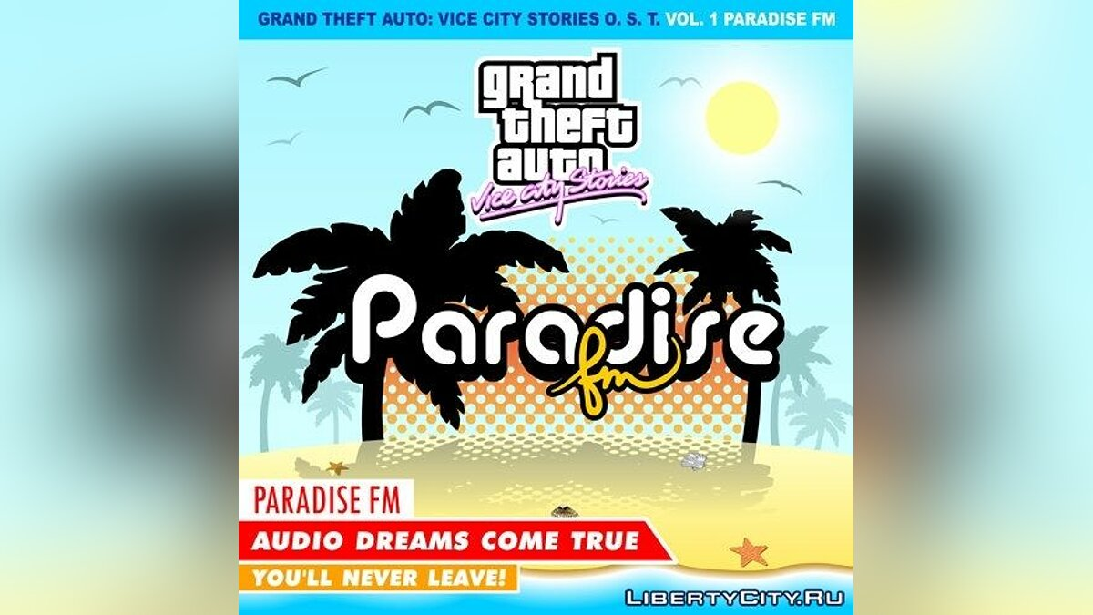Paradise FM для GTA Vice City Stories