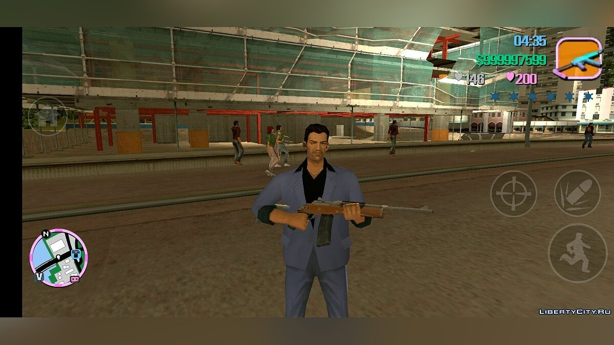 Большой мод PS2 MOD v1.3 +Fix (Android) для GTA Vice City (iOS, Android)