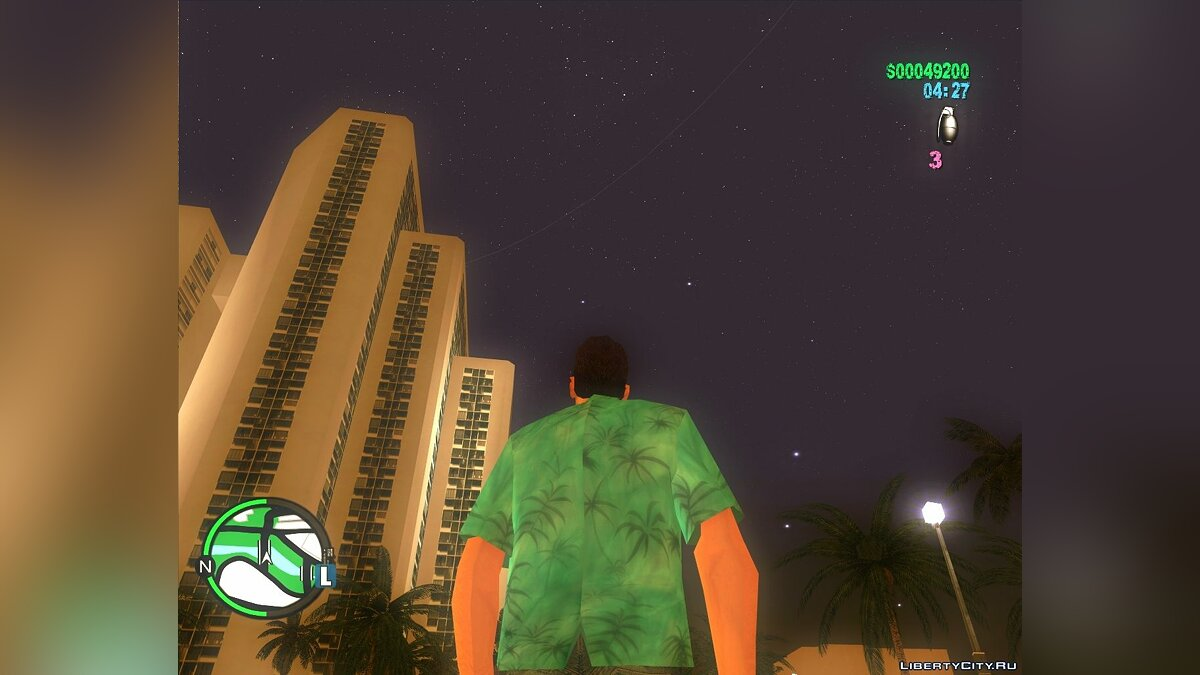 Vice City - Sky Full Of Stars для GTA Vice City