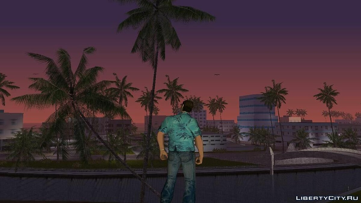 Sky Gradients для GTA Vice City - скриншот #7
