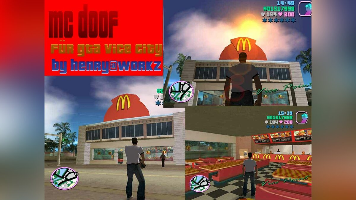 MC Doof Mod 1.0 для GTA Vice City