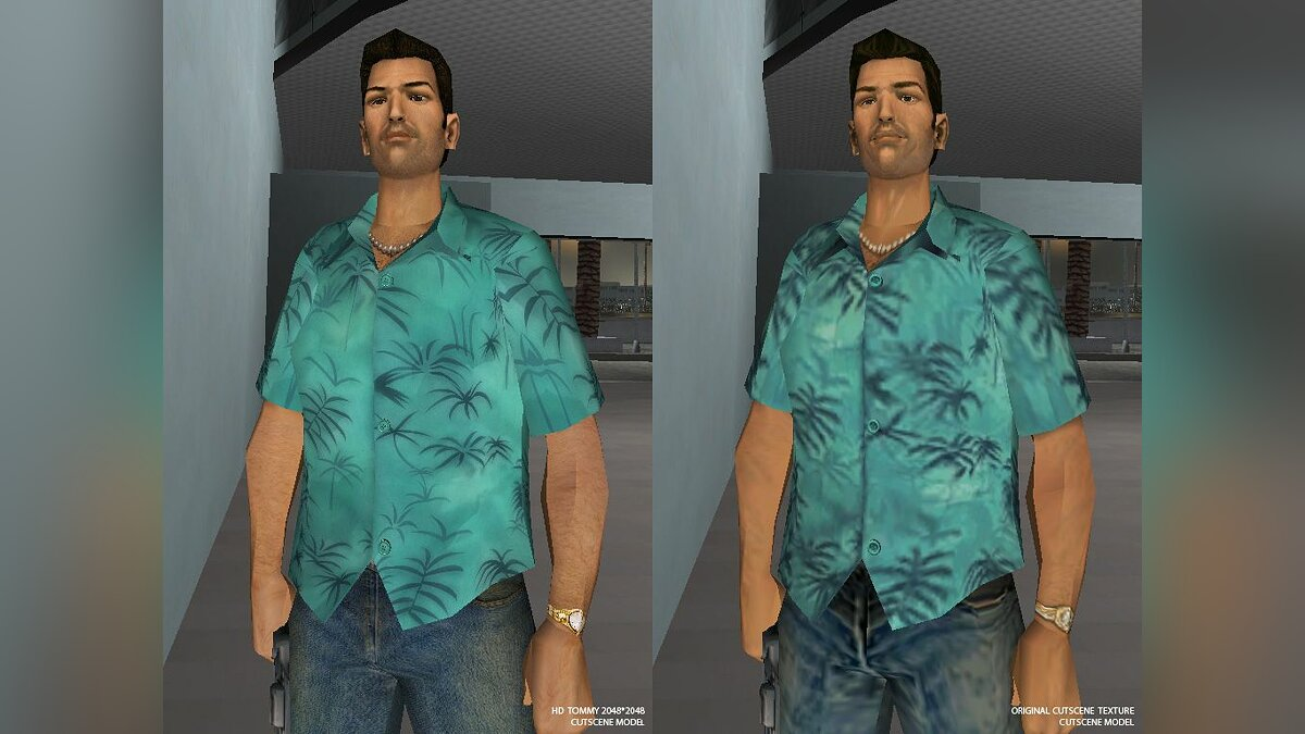 Tommy Vercetti HD для GTA Vice City