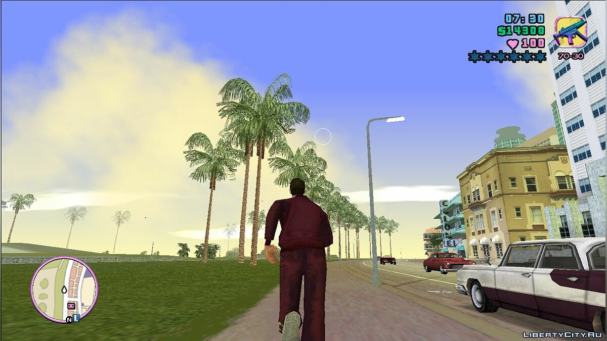 HQ Palm для GTA Vice City - Картинка #3
