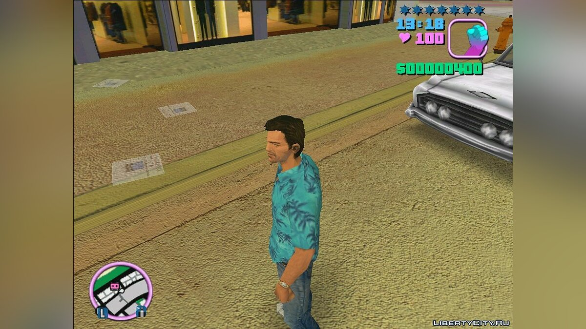 AI Enhanced Roads Textures with Fake Normal Mapping для GTA Vice City - Картинка #4