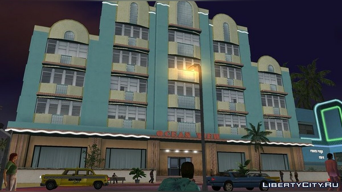 Ocean View Hotel HD Remake для GTA Vice City - Картинка #2