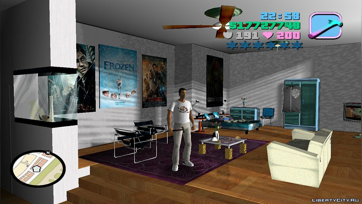 Отель White Room для GTA Vice City - Картинка #2
