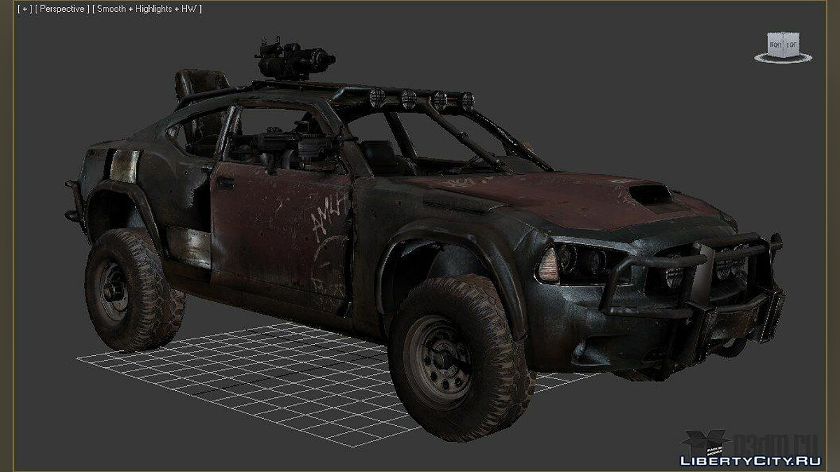 "Charger from ""Ravaged"" для модмейкеров"
