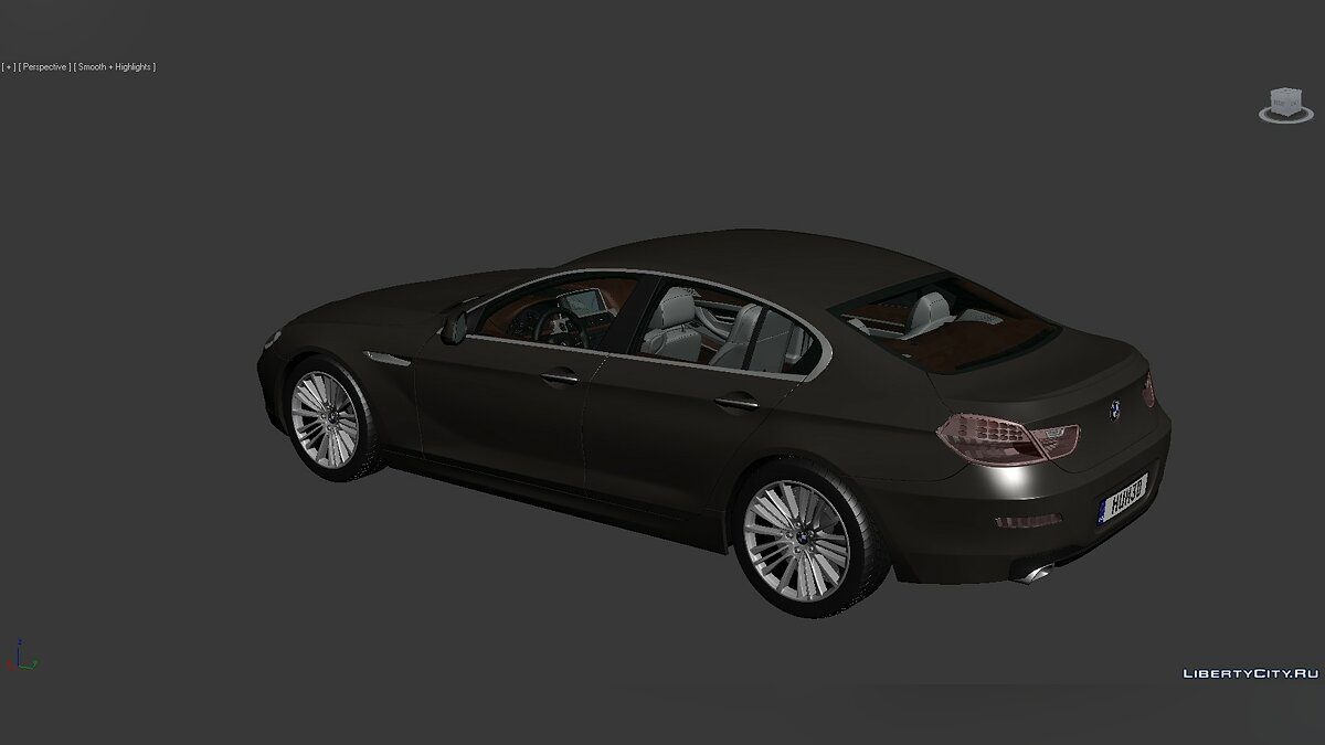 Модель 3D Models BMW 6 Series (F06) 2012 для модмейкеров