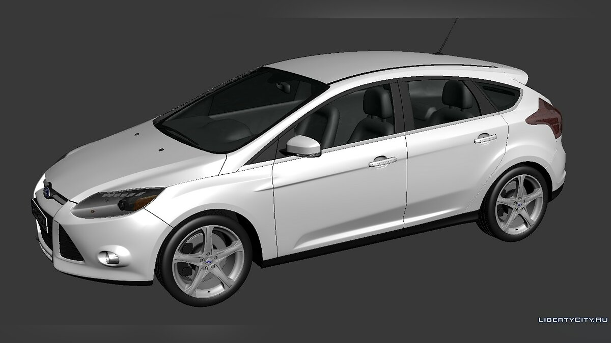 Ford Focus Hatchback 2012 для модмейкеров - Картинка #1