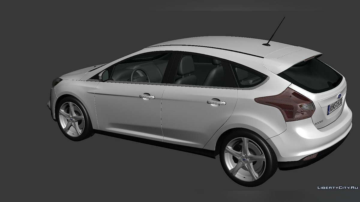 Ford Focus Hatchback 2012 для модмейкеров - Картинка #3