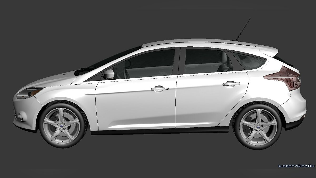 Ford Focus Hatchback 2012 для модмейкеров - Картинка #4