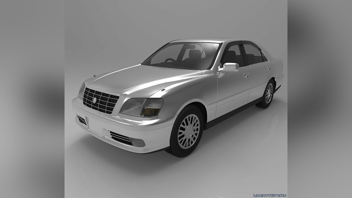 Модель Toyota Crown 3D MODEL для модмейкеров