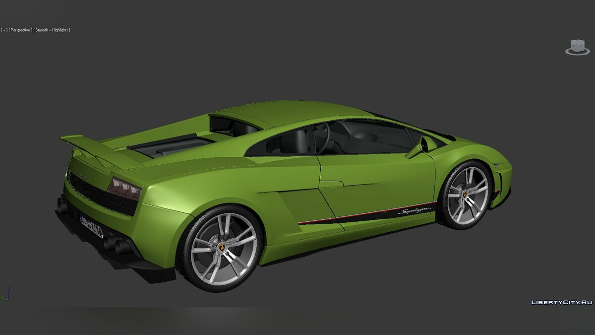 3D Models Lamborghini Gallardo LP570-4 Superleggera 2011 для модмейкеров - Картинка #6
