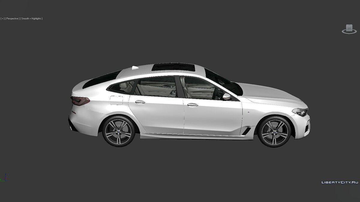 Модель 3D Models BMW 6 Series (G32) 2017 для модмейкеров