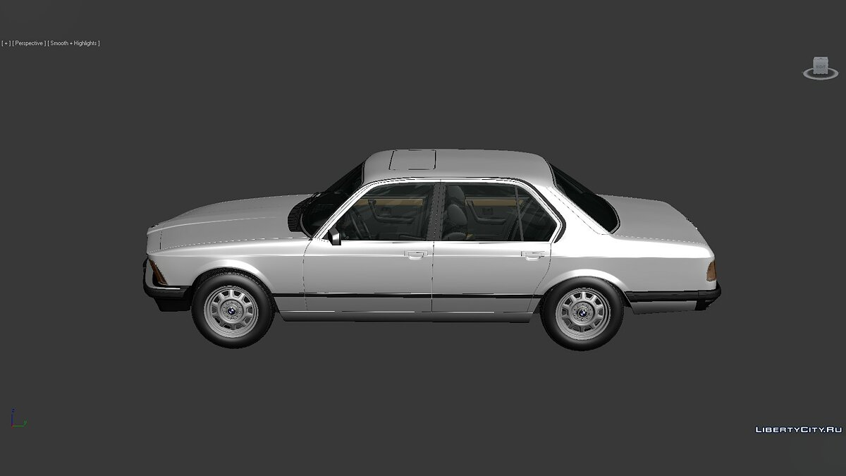 Модель 3D Models BMW 7 Series (E23) 1982 для модмейкеров