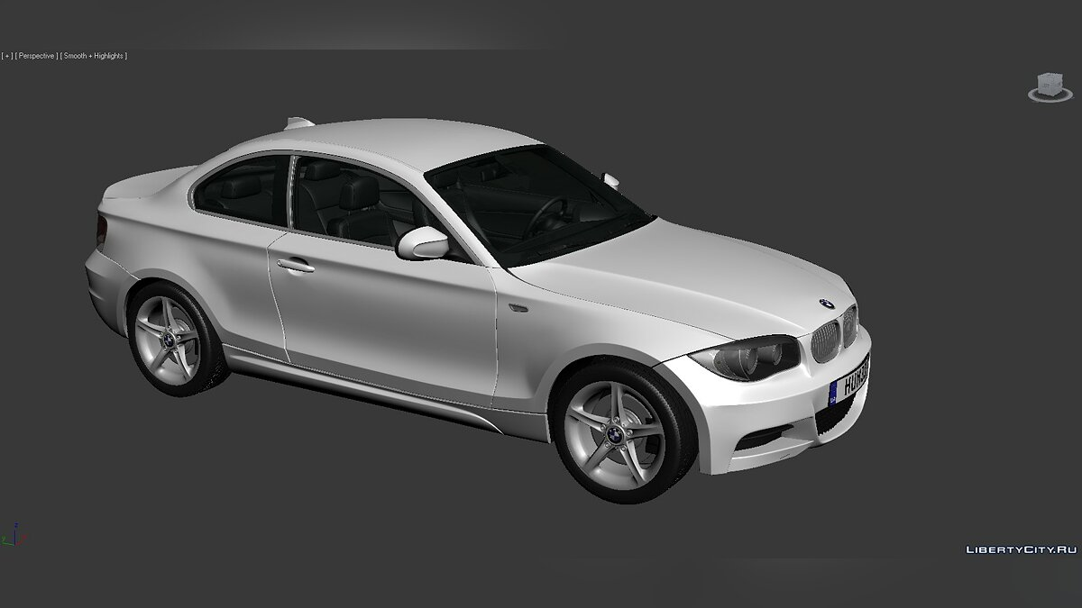 3D Models BMW 1 Series (E82) 2007 для модмейкеров - Картинка #1