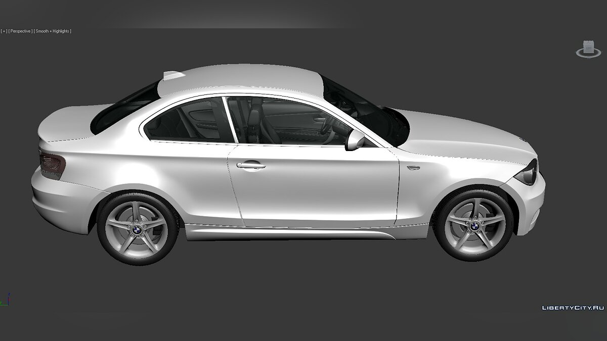 3D Models BMW 1 Series (E82) 2007 для модмейкеров - Картинка #2