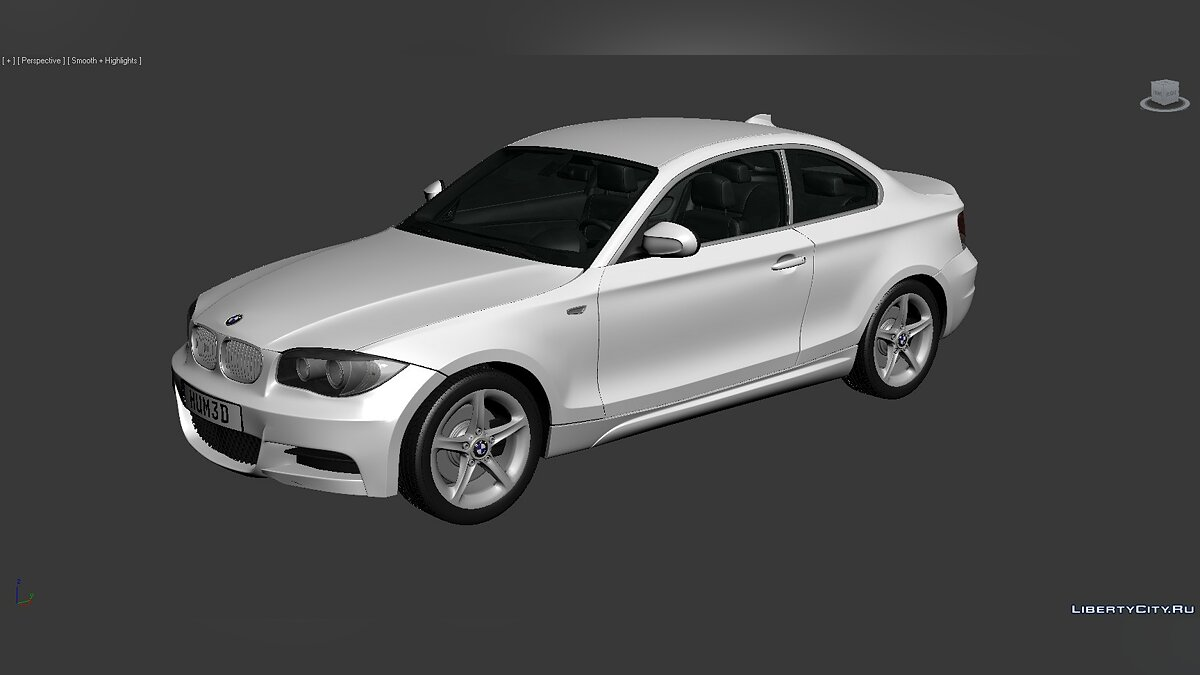 3D Models BMW 1 Series (E82) 2007 для модмейкеров - Картинка #3