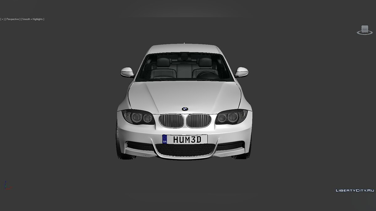 3D Models BMW 1 Series (E82) 2007 для модмейкеров - Картинка #4