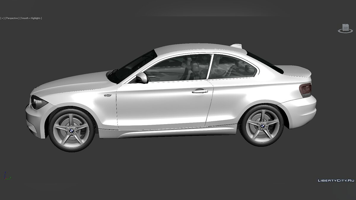 3D Models BMW 1 Series (E82) 2007 для модмейкеров - Картинка #5