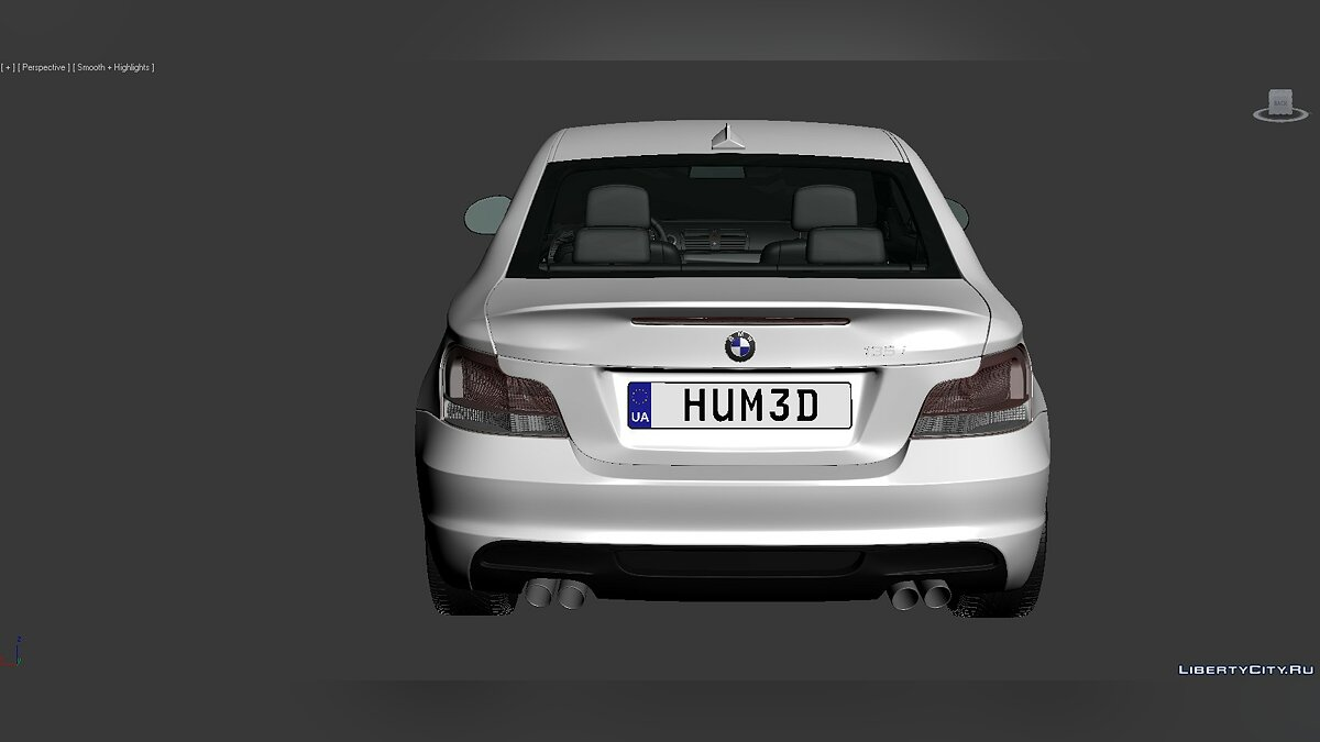 3D Models BMW 1 Series (E82) 2007 для модмейкеров - Картинка #6