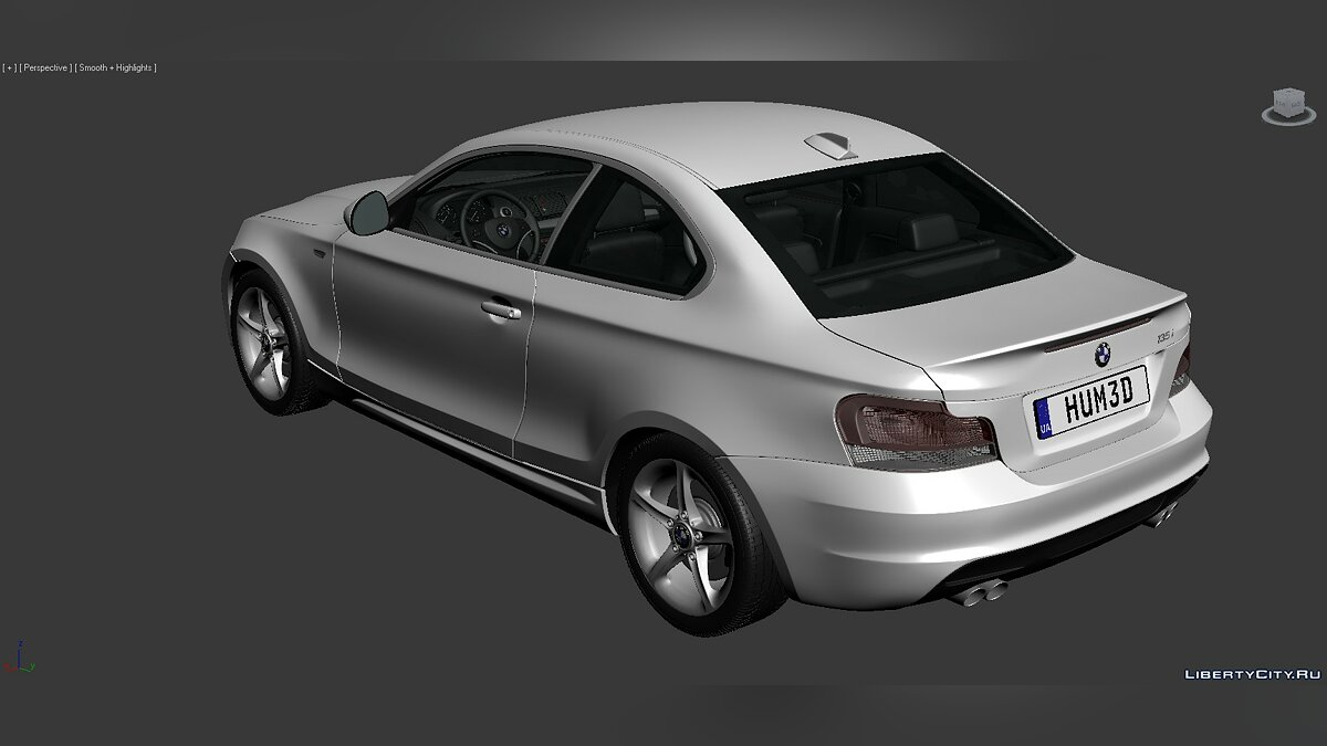 3D Models BMW 1 Series (E82) 2007 для модмейкеров - Картинка #8