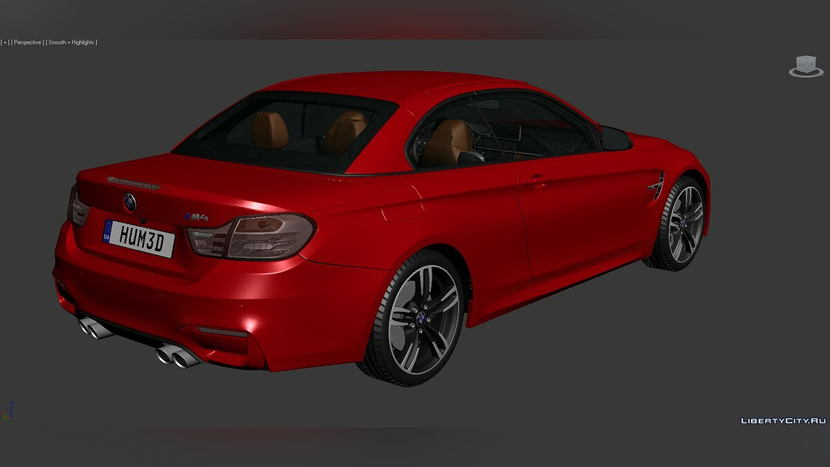 Модель 3D Models BMW 4 Series (F83) 2014 для модмейкеров