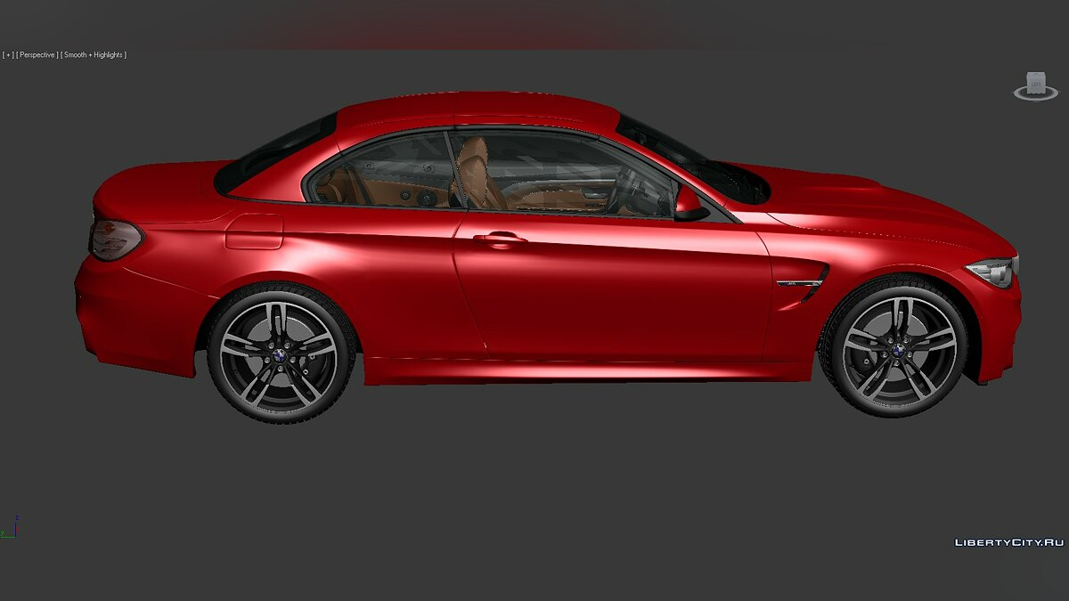 3D Models BMW 4 Series (F83) 2014 для модмейкеров - Картинка #6