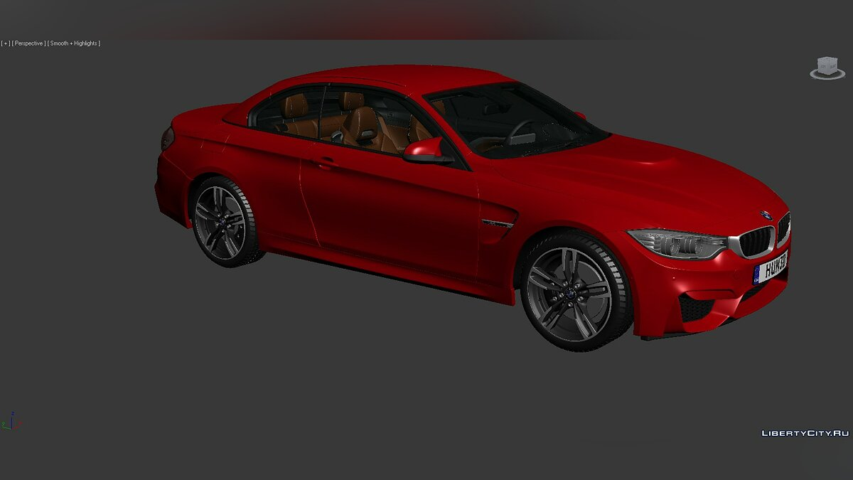 3D Models BMW 4 Series (F83) 2014 для модмейкеров - Картинка #7