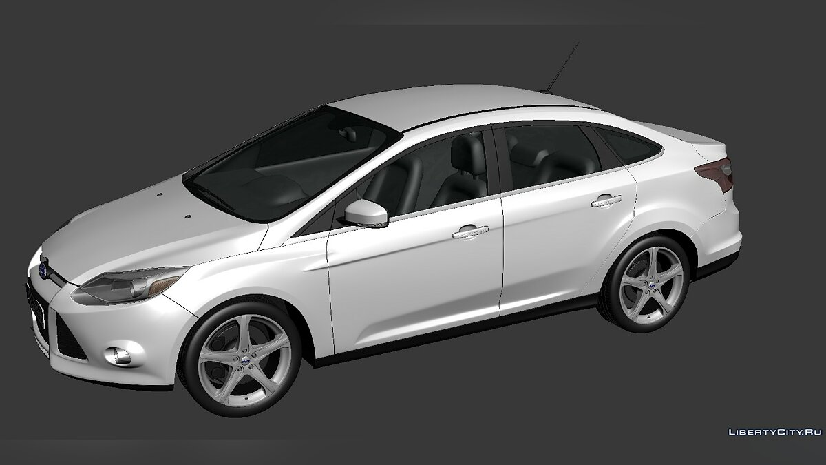 Ford Focus Sedan 2012 для модмейкеров - Картинка #1