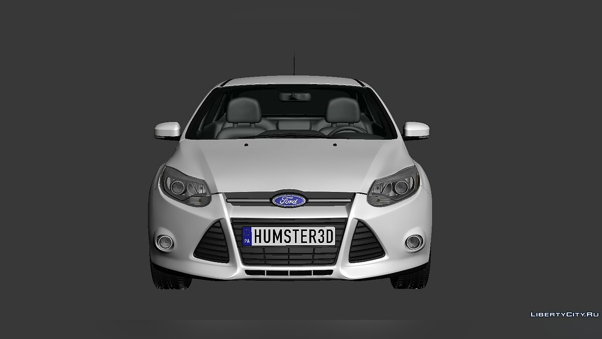 Ford Focus Sedan 2012 для модмейкеров - Картинка #4