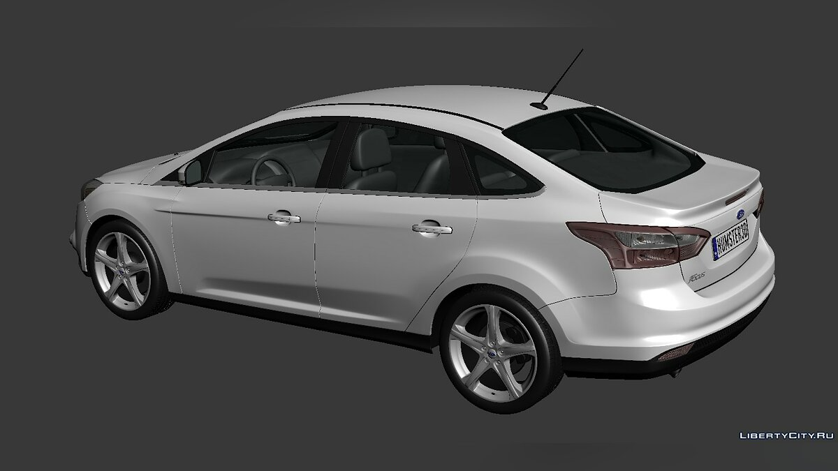 Ford Focus Sedan 2012 для модмейкеров - Картинка #2