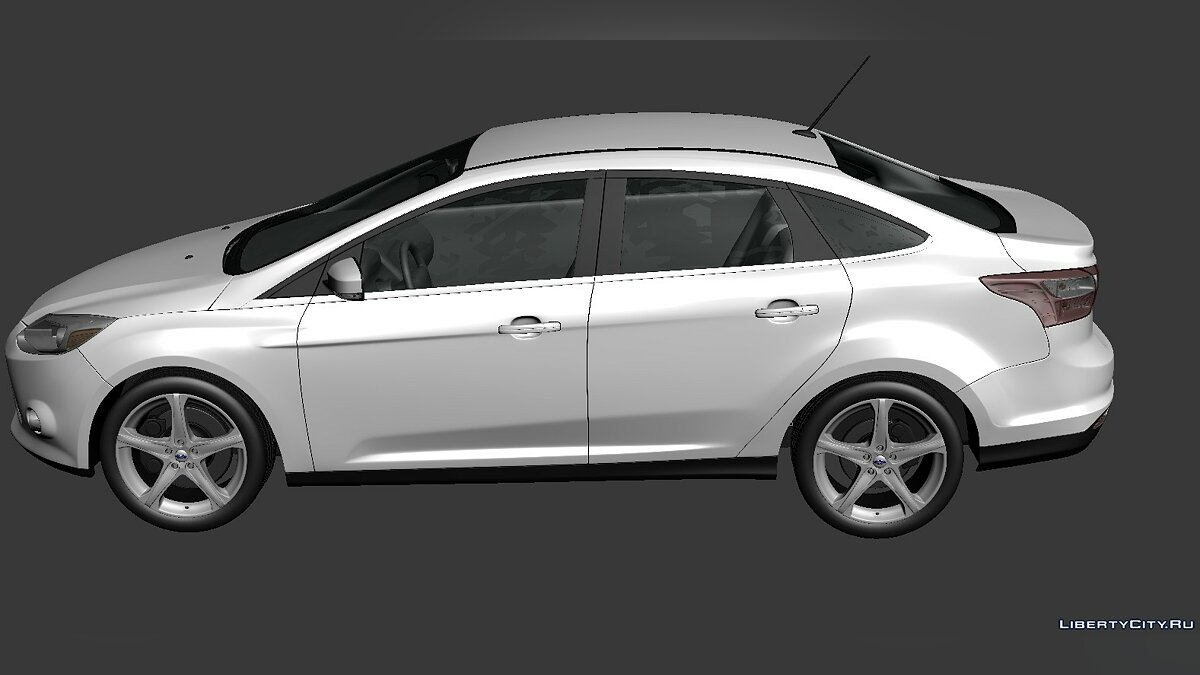 Ford Focus Sedan 2012 для модмейкеров - Картинка #3