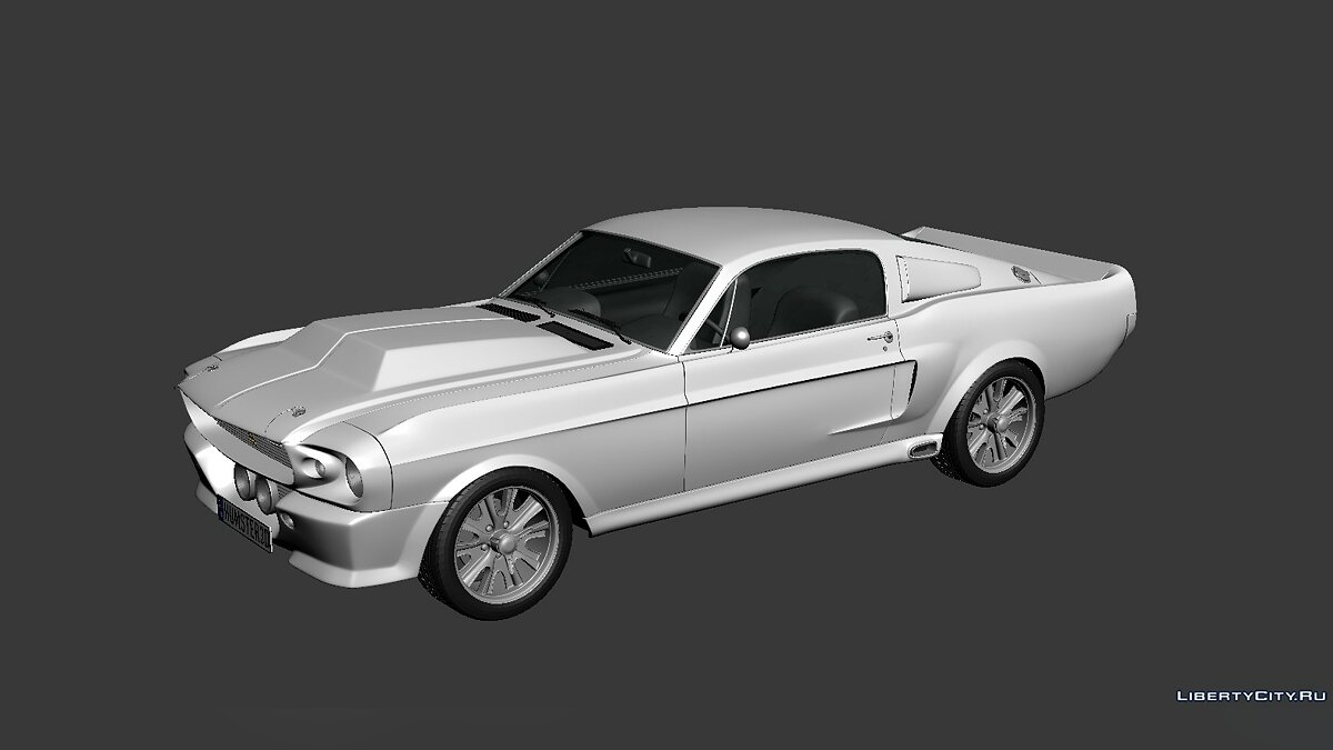 Ford Mustang Shelby GT500 Eleanor 1967 для модмейкеров - Картинка #1