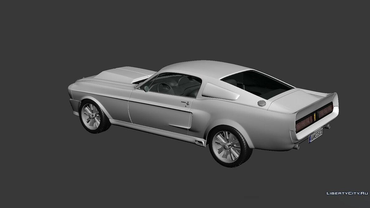 Ford Mustang Shelby GT500 Eleanor 1967 для модмейкеров - Картинка #2