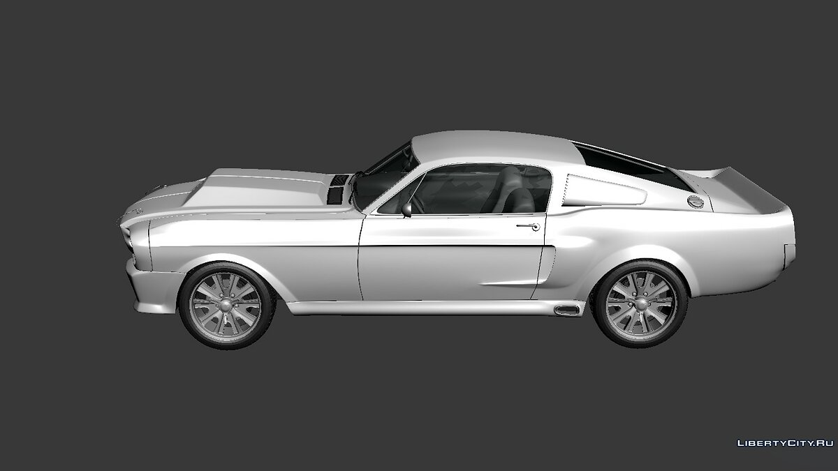Ford Mustang Shelby GT500 Eleanor 1967 для модмейкеров - Картинка #4