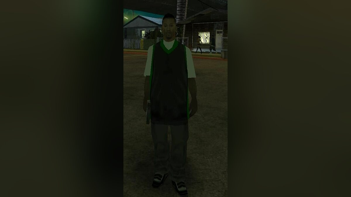 The New Grove Street Guy для GTA San Andreas