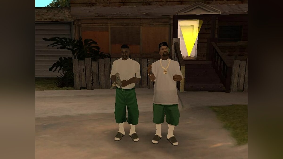 New fam2 and fam3 для GTA San Andreas