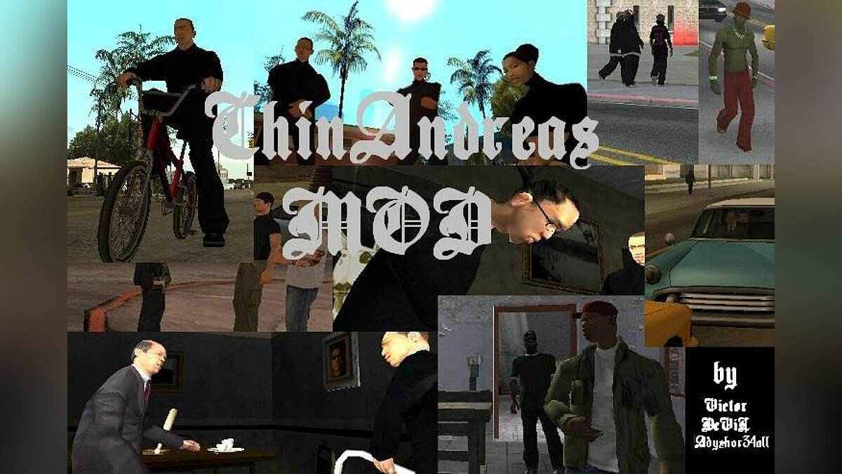 3Side: ChinAndreas Mod для GTA San Andreas