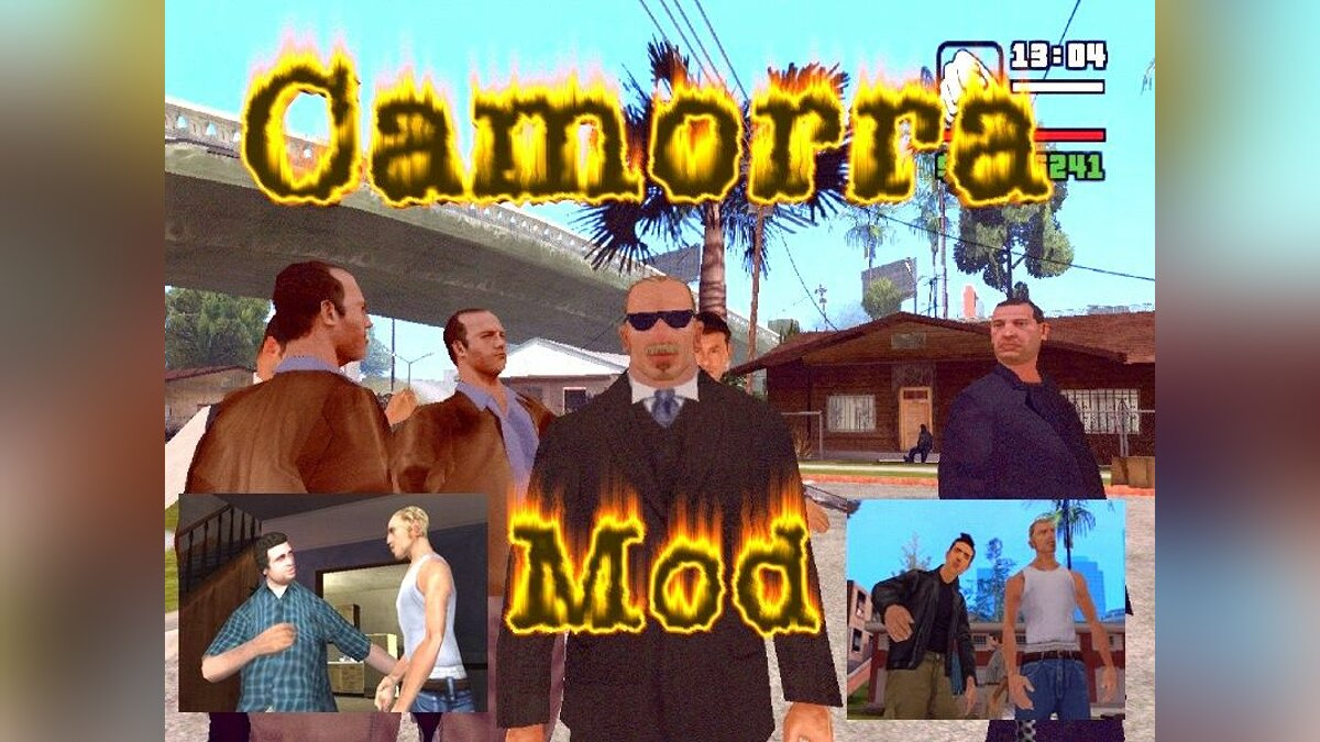 Camorra + Matherian Whitening Project для GTA San Andreas