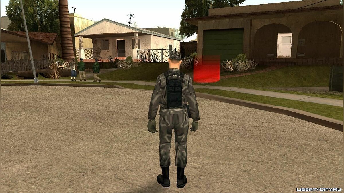 Скин New Army skins [Urban Camo] для GTA San Andreas