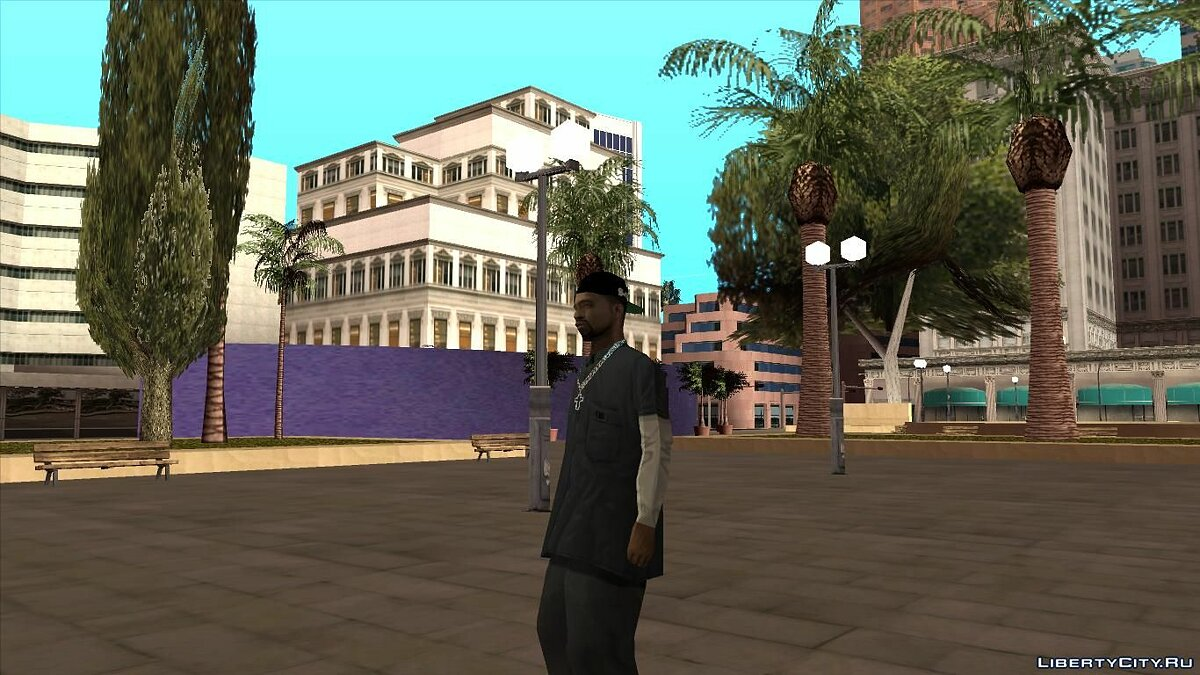 Re-Textured Fam3 для GTA San Andreas