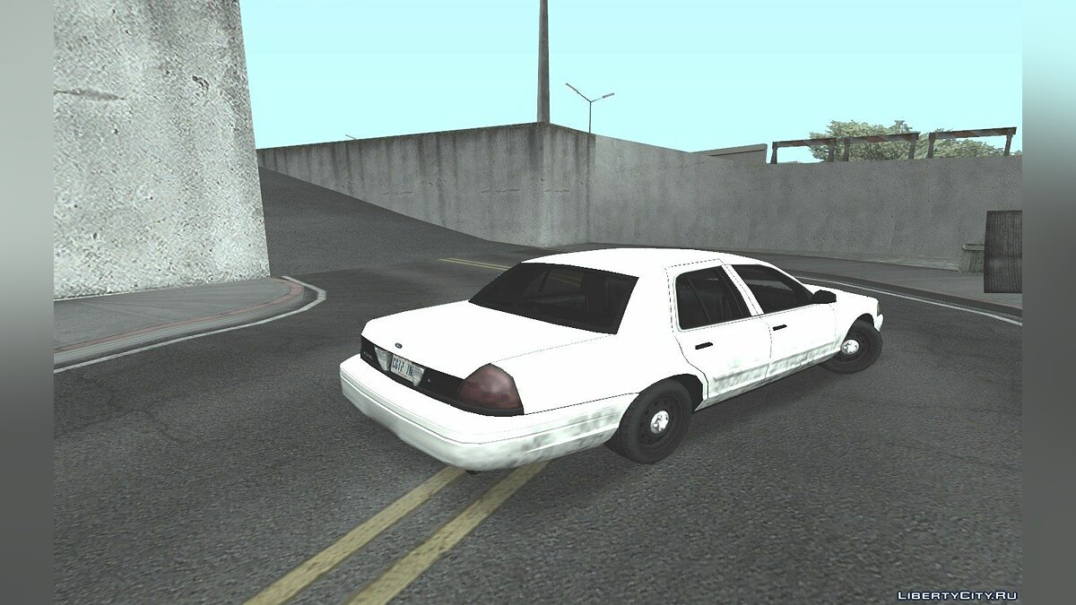 Ford Crown Victoria для GTA San Andreas - скриншот #3