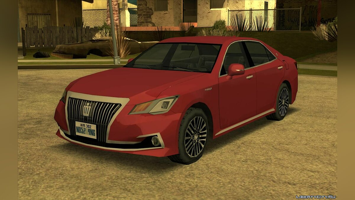 Машина 2016 Toyota Crown Majesta  для GTA San Andreas